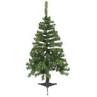Decoration De Noel AUTOUR DE MINUIT Sapin Montana - 150 branches - H 120cm - Vert