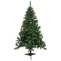 Decoration De Noel AUTOUR DE MINUIT Sapin Montana - 520 branches - H 180cm - Vert