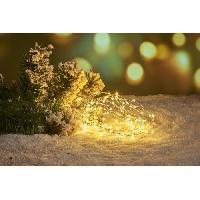 Decoration De Noel Guirlande de Noël Filaire - 120 Mini LED - Blanc chaud Aucune