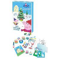 Decoration De Noel PEPPA PIG Calendrier de l'Avent