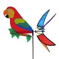 Decoration Du Jardin Moulin a vent perroquet