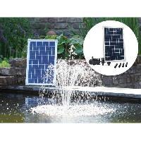 Decoration Du Jardin UBBINK Pompe solaire Solarmax - Avec panneau solaire 40 x 25.5 x 2.5 cm