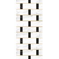 Decoration Du Sol AASTORY Tapis 100% vinyle VIF 32955 - 1.5 mm - 49.5 x 112 cm - Gris - Made In France