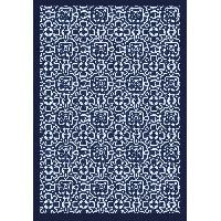 Decoration Du Sol AASTORY Tapis 100% vinyle VIF 35921 - 1.5 mm - 66 x 95 cm - Bleu - Made In France
