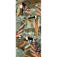 Decoration Du Sol AASTORY Tapis 100% vinyle VIF 38720 - 1.5 mm - 49.5 x 112 cm - Gris - Made In France