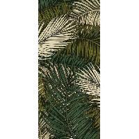 Decoration Du Sol AASTORY Tapis 100% vinyle VIF 38721 - 1.5 mm - 49.5 x 112 cm - Vert - Made In France