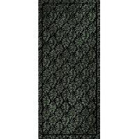 Decoration Du Sol AASTORY Tapis 100% vinyle VIF 38726 - 1.5 mm - 49.5 x 112 cm - Noir - Made In France