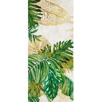 Decoration Du Sol AASTORY Tapis 100% vinyle VIF 40642 - 1.5 mm - 49.5 x 112 cm - Vert - Made In France