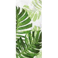 Decoration Du Sol AASTORY Tapis 100% vinyle VIF 40658 - 1.5 mm - 49.5 x 112 cm - Vert - Made In France