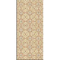 Decoration Du Sol AASTORY Tapis 100% vinyle VIF 41119 - 1.5 mm - 49.5 x 112 cm - Jaune - Made In France