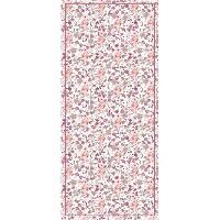 Decoration Du Sol AASTORY Tapis 100% vinyle VIF 41162 - 1.5 mm - 49.5 x 112 cm - Rouge - Made In France
