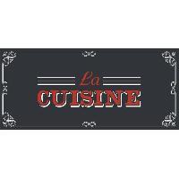 Decoration Du Sol AASTORY Tapis de cuisine 100% Vinyle - 49.5x109 cm - VIF 23396 - Made In France
