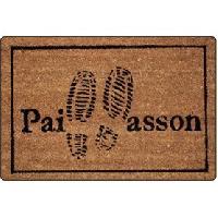 Decoration Du Sol Paillasson 40x60cm coco imprime pas