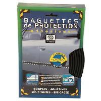 Decoration Exterieure Baguette de protection 4m x40mm - noir - ADNAuto