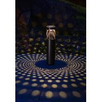 Decoration Lumineuse Borne a energie solaire cylindrique - 10 Lm - H 53.5-38.5 x O 8.7 cm