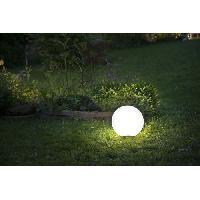 Decoration Lumineuse Boule solaire D 40 cm - Acrylique - Multicolore