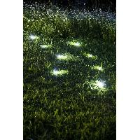 Decoration Lumineuse Decoration solaire galet - Polyresine - 5 lumens