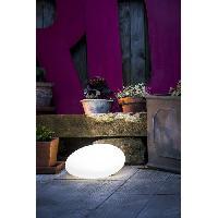 Decoration Lumineuse GALIX Galet solaire - Plastique - Multicolore