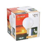 Decoration Lumineuse Lampe boule solaire - 4 LED - Generique