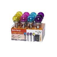 Decoration Lumineuse Lampe solaire - Boule de verre