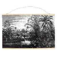 Decoration Murale - Tableau - Cadre Photo - Sticker CMP Déco murale textile paysage - 110 x 73 cm M18