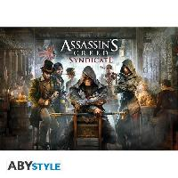 Decoration Murale - Tableau - Cadre Photo - Sticker Poster Assassin'S Creed Syndicate Jaquette