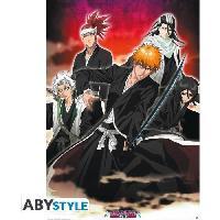 Decoration Murale - Tableau - Cadre Photo - Sticker Poster Bleach - Ichigo et Shinigamis