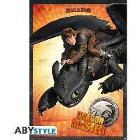 Decoration Murale - Tableau - Cadre Photo - Sticker Poster Dragons - Dragon Master