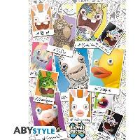 Decoration Murale - Tableau - Cadre Photo - Sticker Poster Lapins Cretins - LPC 10 ans