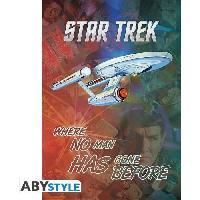 Decoration Murale - Tableau - Cadre Photo - Sticker Poster Star Trek - Mix and Match