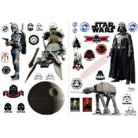 Decoration Murale - Tableau - Cadre Photo - Sticker Stickers Star Wars - 100x70cm - L'empire (blister)  - ABYstyle