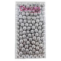 Decoration Patisserie - Nappage Patisserie DRAGEES DE FRANCE Perles de chocolat aux cereales - Argentees - 250 g