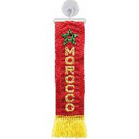 Decorations interieures Mini-Echarpe Maroc avec ventouse