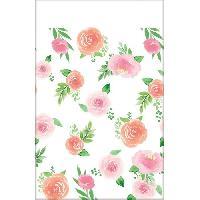 Decors De Table - Petits Objets Decoratifs AMSCAN Nappe papier Floral Baby 137 x 259 cm