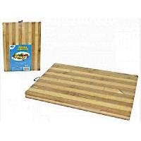 Decoupe Des Aliments AMBIANCE NATURE - 505491 - Planche a découper bambou 29x22cm
