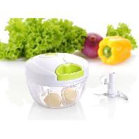Decoupe Des Aliments ARDTIME - SS-HACHOIR1 - Mini hachoir a tirer - 12.5cm x 9.3cm - boite couleur - Vert - Ard`time