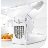 Decoupe Des Aliments LEIFHEIT 3206 Coupe-Frites. coupe des pommes de terre. coupe légumes antidérapant pour faire des bâtonnets de 10mm ou 12 mm