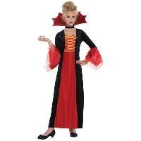 Deguisement - Panoplie Costume Fille Princesse Gothique - 4-6 ans