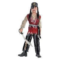 Deguisement - Panoplie Cuththroat Corpse Pirate - 1214 ans