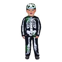 Deguisement - Panoplie De Deguisement AMSCAN Costume Petit Squelette - Carnaval - 2/3 ans