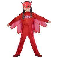 Deguisement - Panoplie De Deguisement PYJAMASQUES Déguisement Enfant - Bibou - 7/8 ans - Amscan