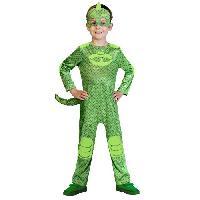 Deguisement - Panoplie PJ MASKS Costume Gekko - 34 ans