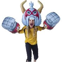 Deguisement - Spectacle Armure Massive Monster Mayhem Gonflable - Casque & Poings - Modele RoBro - EU666121