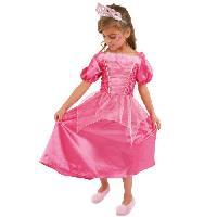 Deguisement - Spectacle CESAR - B432 - Robe princesse Rose - 8 / 10 ans