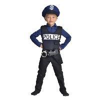 Deguisement - Spectacle CESAR - Déguisement policier - 5 / 7 ans