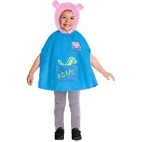 Deguisement - Spectacle Cape George Peppa Pig 2-3 ans - Costume Garcon