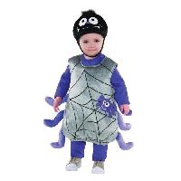 Deguisement - Spectacle Costume Bebe Petite Araignee - 23 ans