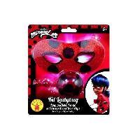 Deguisement - Spectacle MIRACULOUS Kit blister loup pailleté + Yoyo + Boucles d'oreilles Ladybug