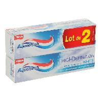 Dentaire Dentifrice High Definition - menthe eblouissante - 2x75ml