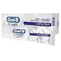 Dentaire ORAL B Dentifrice 3d White luxe perfection - 75 ml